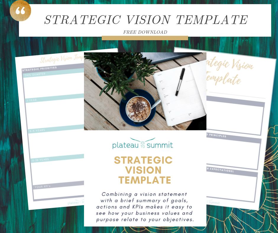 Strategic Vision Template